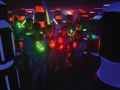 Laser Tag Games in Ventura