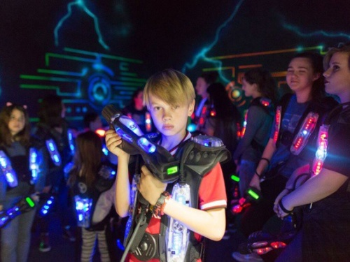 Laser Tag Downtown Los Angeles