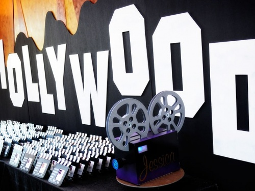 Hollywood themed birthday party