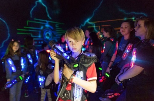 Laser Tag Birthday Party los angeles