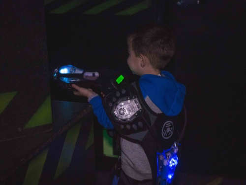 Laser Tag Game in Los Angeles